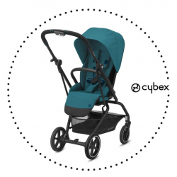 CYBEX Eezy S Twist + 2 River Blue