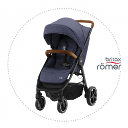 BRITAX-ROMER B-AGILE R Navy Ink/Brown