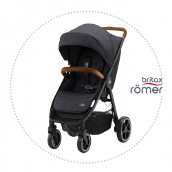BRITAX-ROMER B-AGILE R Black Shadow/Brown