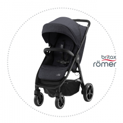 BRITAX-ROMER B-AGILE R Black Shadow/Black