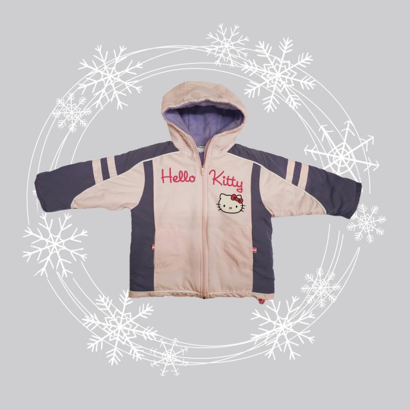 SAMRIO Zimná bunda HELLO KITTY