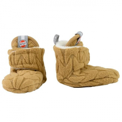 LODGER Capačky Slipper Fleece Empire Dark Honey 3 - 6 mesiacov
