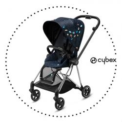 CYBEX Mios Chrome/Black športový kočík - Jewels of Nature