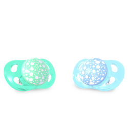 TWISTSHAKE Cumlík mini 0-6m 2ks - Pastelovo modrá a zelená