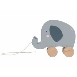 LITTLE DUTCH Ťahací slon