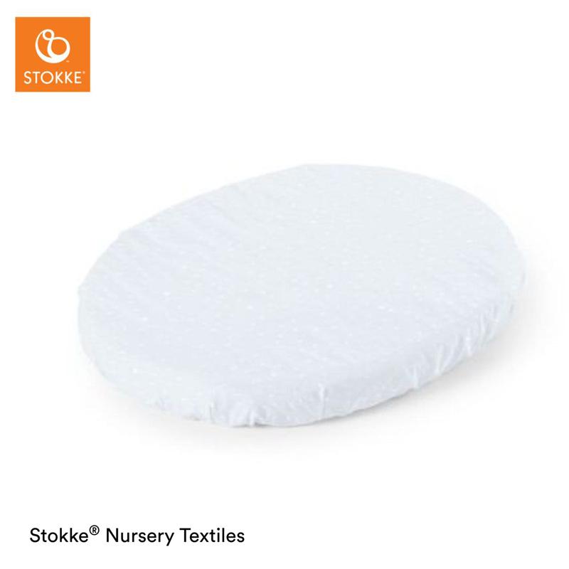STOKKE Plachta na postieľku MINI 80 cm, organická bavlna