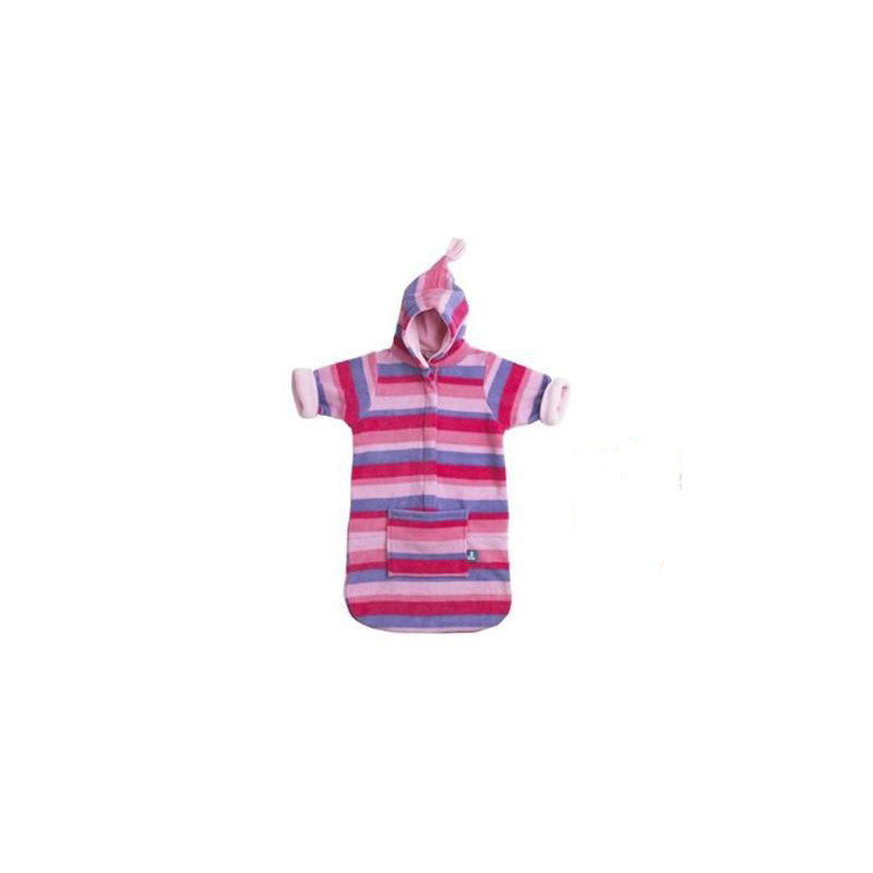 BUGGYSNUGGLE Spací vak PINK STRIPE BABY080