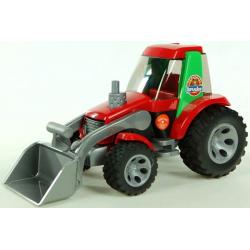 BRUDER Traktor červený