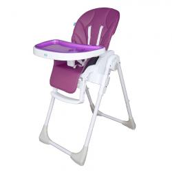 PALI Jedálenská stolička PAPPY LIGHT purple