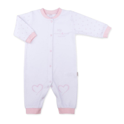 KITIKATE Overal Love Me White - Pink