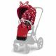 CYBEX PRIAM Jeremy Scott Petticoat Red seat pack
