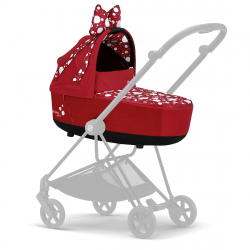 CYBEX Mios Jeremy Scott Petticoat Red Lux hlboká vanička