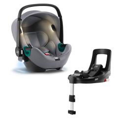 BRITAX-ROMER Baby-Safe iSense Bundle Flex iSense - Frost Grey