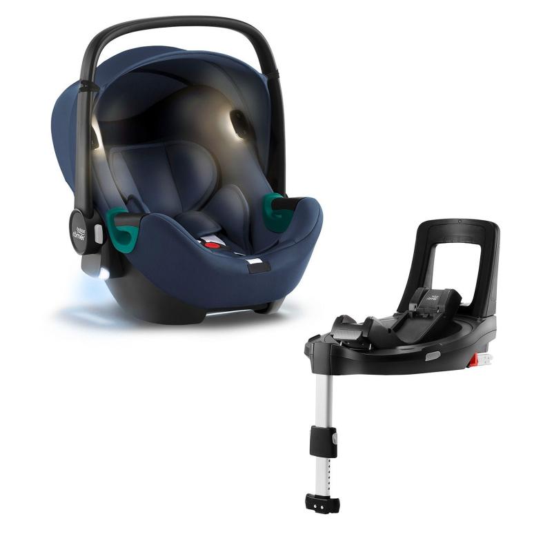 BRITAX-ROMER Baby-Safe iSense Bundle Flex iSense - Indigo Blue