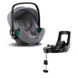 BRITAX-ROMER Baby-Safe 3 i-Size Bundle Flex iSense - Frost Grey