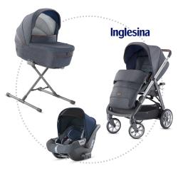 INGLESINA Aptica quattro hlboká vanička, športové sedadlo, autosedačka darwin tailor denim