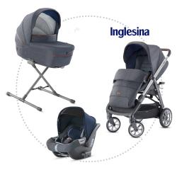 INGLESINA Aptica quattro hlboká vanička, športové sedadlo, autosedačka CAB tailor denim