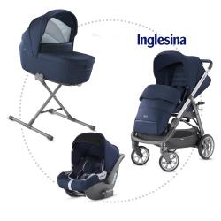 INGLESINA Aptica quattro hlboká vanička, športové sedadlo, autosedačka CAB portland blue