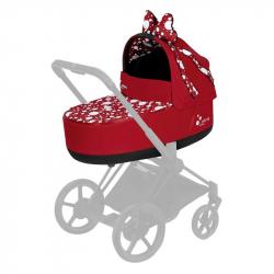 CYBEX PRIAM Jeremy Scott Petticoat Red Lux hlboká vanička