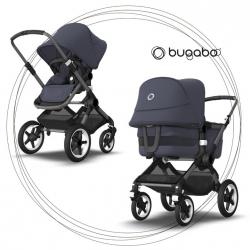 BUGABOO Fox 3 - 2. kombinácia Podvozok Graphite / Stormy Blue