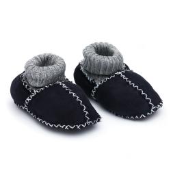 FILLIKID Topánky z jahňacej kože Navy