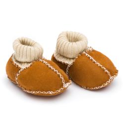 FILLIKID Topánky z jahňacej kože Brown