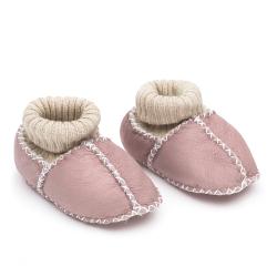 FILLIKID Topánky z jahňacej kože Pink