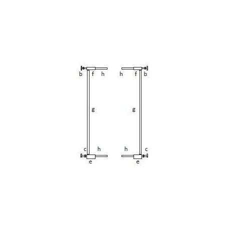 BABYDAN Predlžovací diel 2x 7cm PREMIER PET GATE čierne