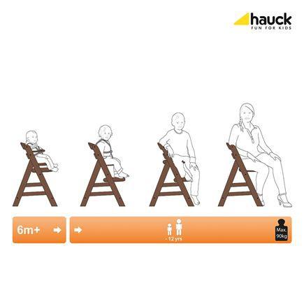 Hauck jedálenská stolička Alpha+