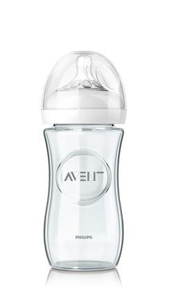 AVENT Fľaša Natural 2 Sklo 240ml 1ks