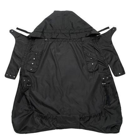 ERGOBABY Pláštenka na detský nosič čierna