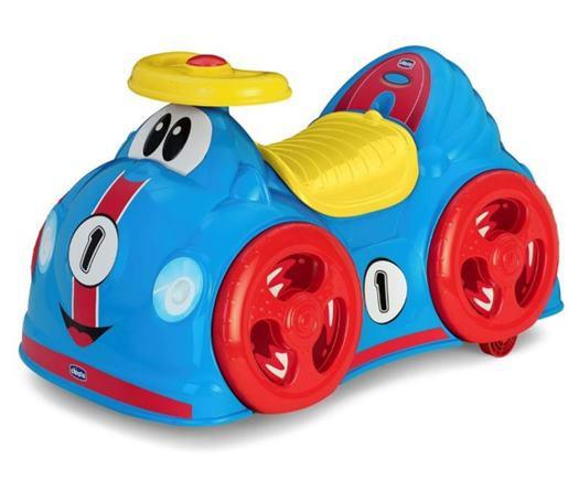 CHICCO Odrážadlo All Round, pretekárske auto