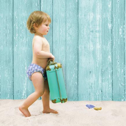 BAMBINO MIO Detské plavky ocean drop veľ. S