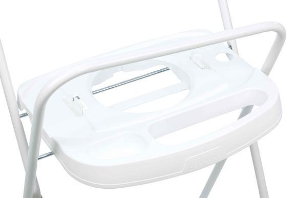 BÉBÉ JOU Kovový stojan Click biely 103 cm