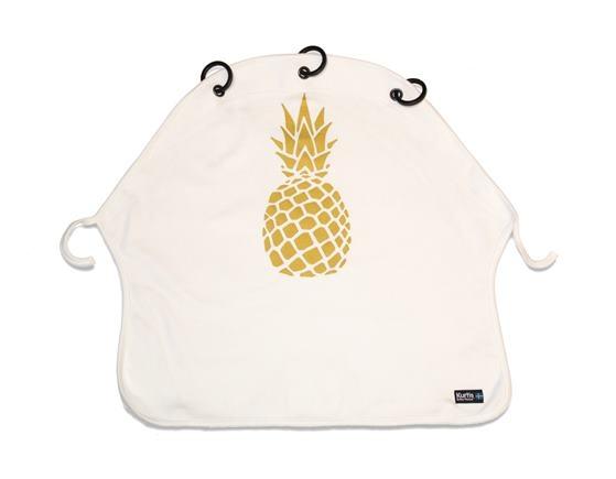 KURTIS Slnečná clona Pineapple Gold White