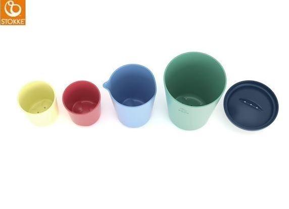 STOKKE Flexi Bath poháriky na hranie do vaničky
