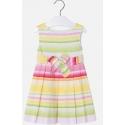 MAYORAL Šaty farebné pásikavé Amarillo