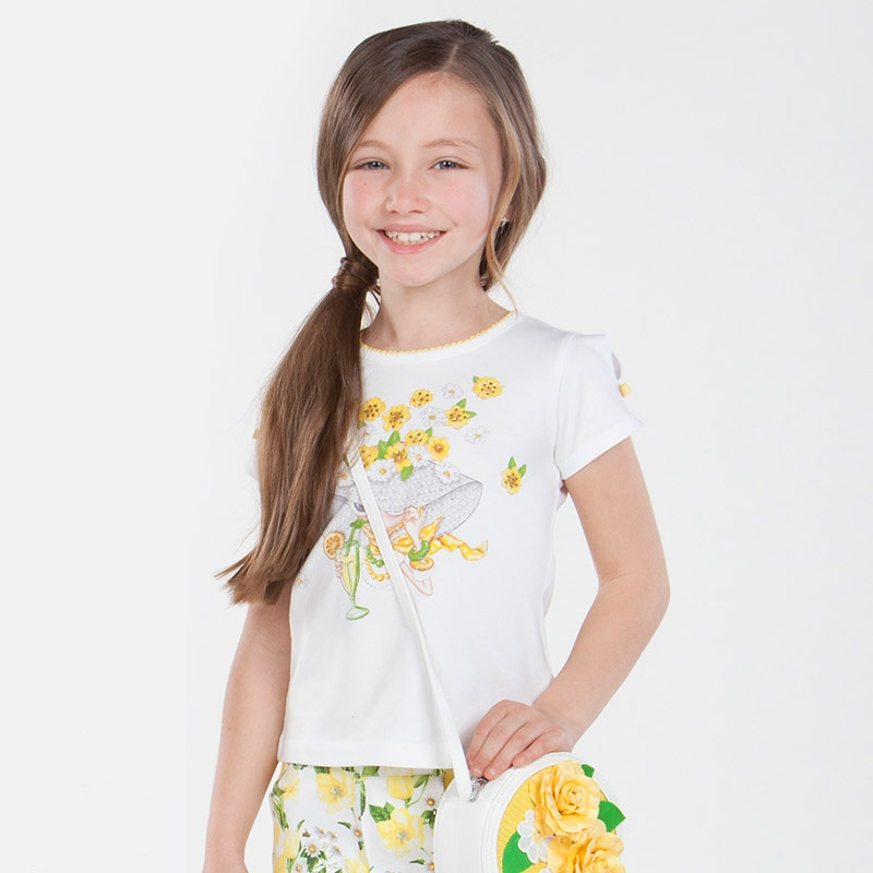 MAYORAL Krátke tričko Amarillo