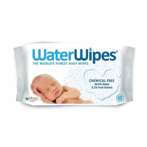 ORGANYC Vlhčené Utierky Water Wipes, 60ks