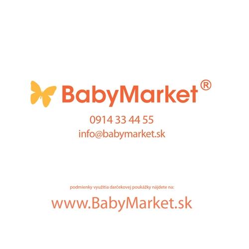 BABYMARKET Darčeková kartička