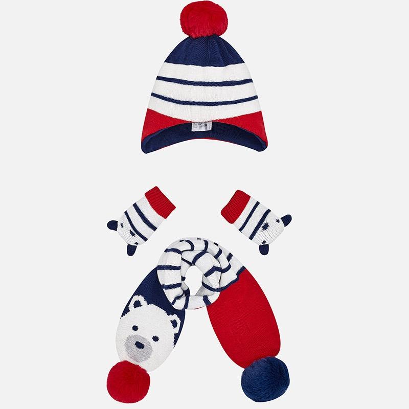 MAYORAL Set čiapka + šál + rukavice