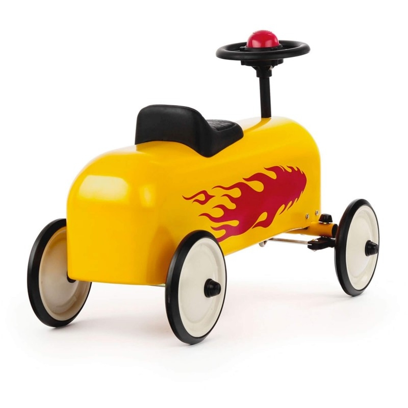 BAGHERA Odrážadlo Racer Flamme Jaune