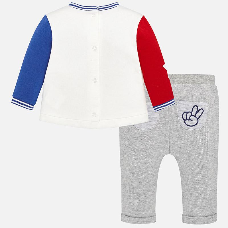 MAYORAL Set nohavice + tričko Plata vig