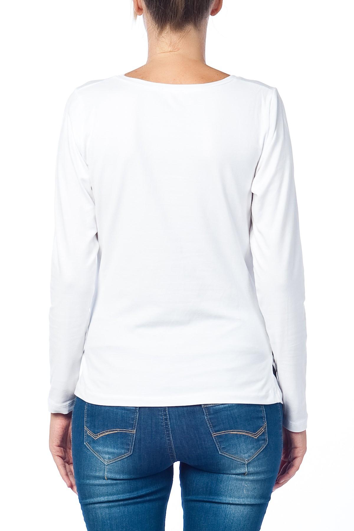MAMIMODE Tričko s motívom Guck Guck White