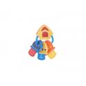B-KIDS Hudobná hrkálka kľúčenka