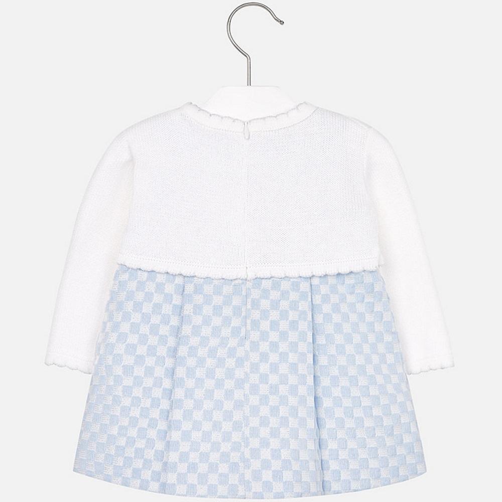 2f84af9bcbc3 MAYORAL Šaty modré so svetríkom - BabyMarket