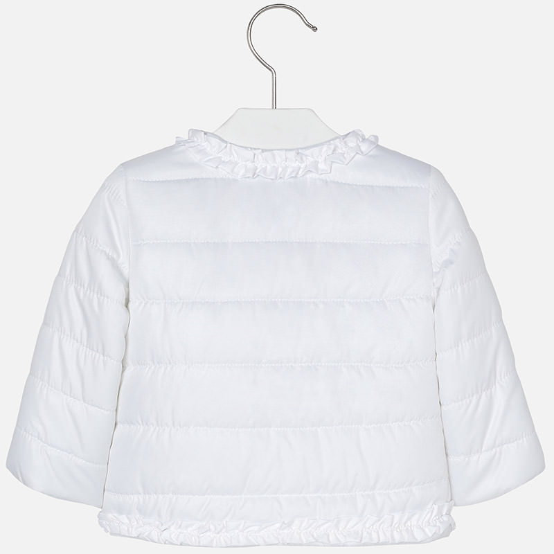 MAYORAL Dievčenská bunda biela