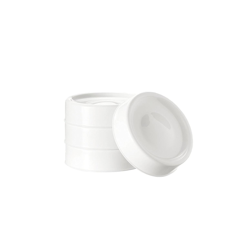 TOMMEE TIPPEE Vrchnáky pre uskladnenie mlieka 4 kusy