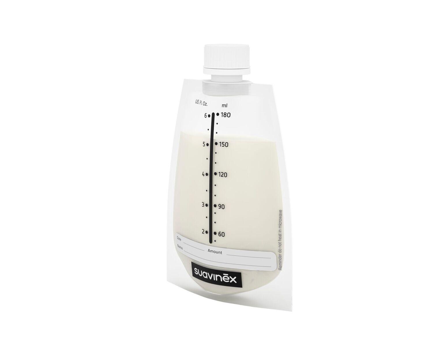 SUAVINEX Sáčky na materské mlieko s uzáverom 20ks