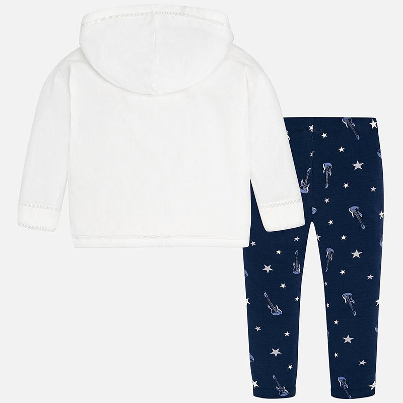 MAYORAL 2-set Šaty + legíny Azul Noche